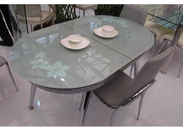 Стеклянные кухонные столы и стулья фото и цены